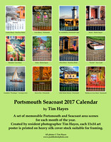 Portsmouth Seacoast 2017 Calendar - Back Cover