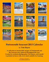Portsmouth Seacoast 2015 Calendar - Back Cover